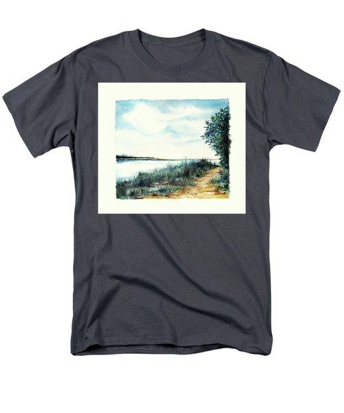 River Walk Men's T-Shirt  (Regular Fit) by Heidi Kriel