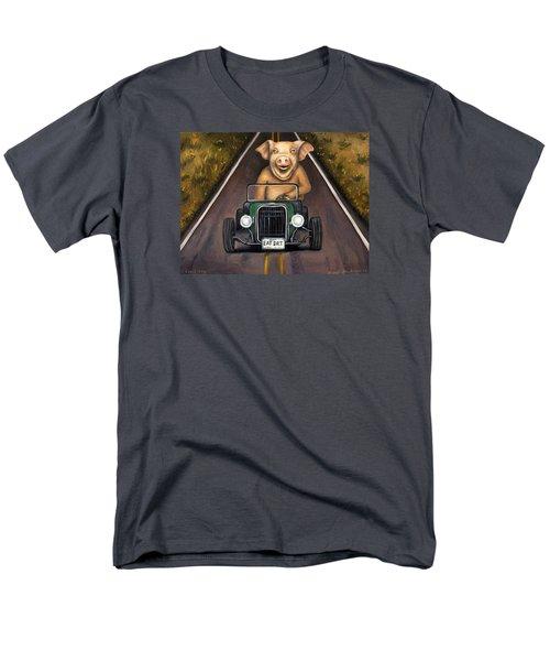 Road Hog Men's T-Shirt  (Regular Fit) by Leah Saulnier The Painting Maniac