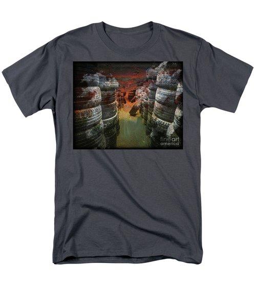 Road Rash Men's T-Shirt  (Regular Fit) by Deborah Nakano