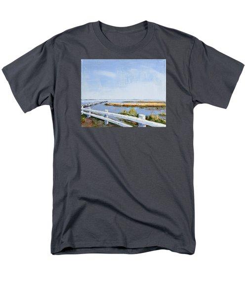 Roadside P-town Men's T-Shirt  (Regular Fit) by Trina Teele