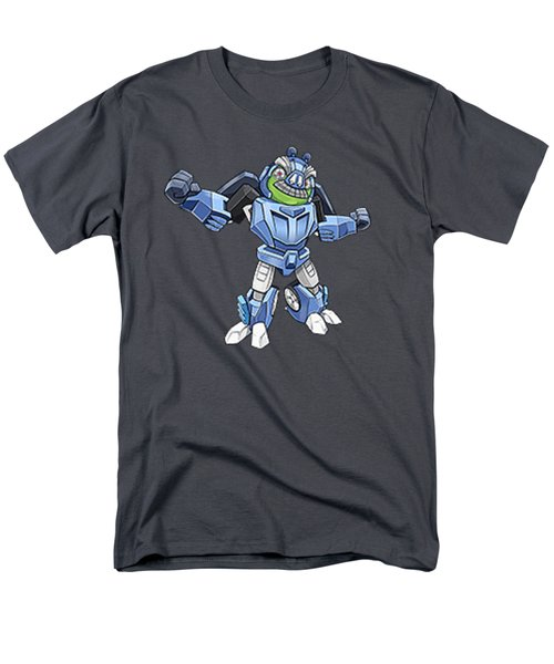 I Robot T-shirt Men's T-Shirt  (Regular Fit) by Herb Strobino