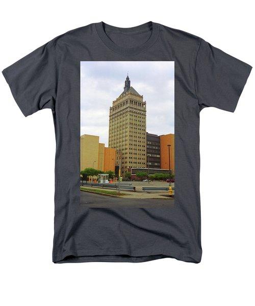 Rochester, Ny - Kodak Building 2005 Men's T-Shirt  (Regular Fit) by Frank Romeo
