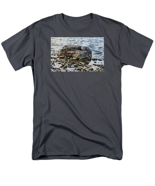Men's T-Shirt  (Regular Fit) featuring the photograph Rock And Roll by Deborah Smolinske