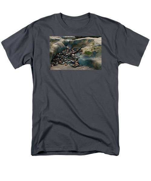 Men's T-Shirt  (Regular Fit) featuring the photograph Rock Cradle by Randy Bayne