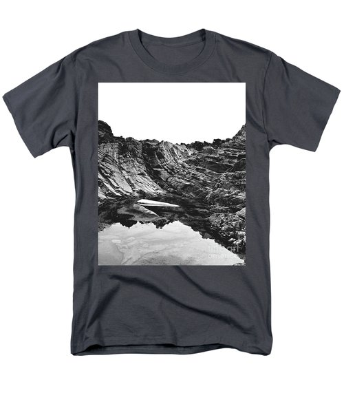 Rock - Detail Men's T-Shirt  (Regular Fit) by Rebecca Harman