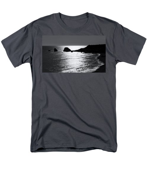 Rock Silhouette Men's T-Shirt  (Regular Fit) by Mike Santis