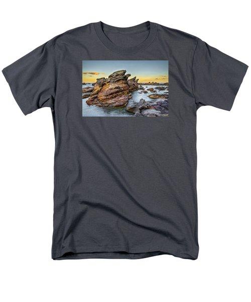 Rocks And Sea Men's T-Shirt  (Regular Fit) by Martin Capek