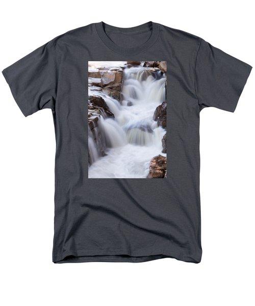 Rocky Gorge Falls Men's T-Shirt  (Regular Fit) by Michael Hubley