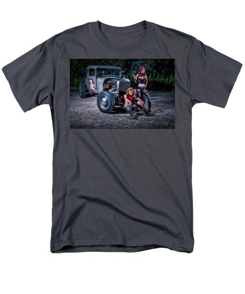 Rodders #2 Men's T-Shirt  (Regular Fit) by Jerry Golab