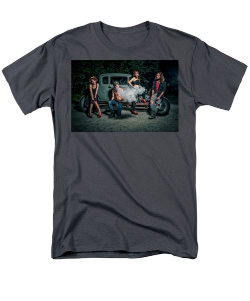 Rodders #3 Men's T-Shirt  (Regular Fit) by Jerry Golab
