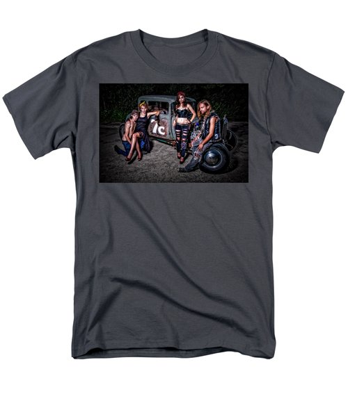Rodders #4 Men's T-Shirt  (Regular Fit) by Jerry Golab