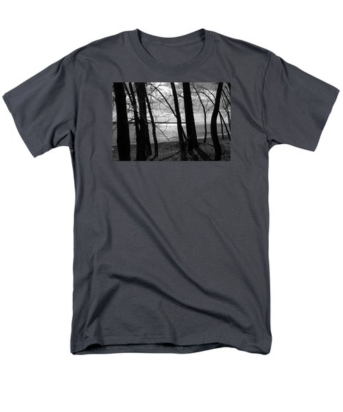 Men's T-Shirt  (Regular Fit) featuring the photograph Romantic Lake by Valentino Visentini