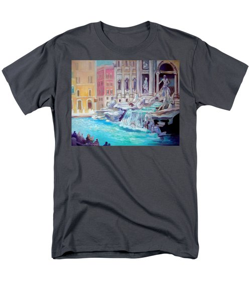 Rome  Italy Men's T-Shirt  (Regular Fit) by Paul Weerasekera