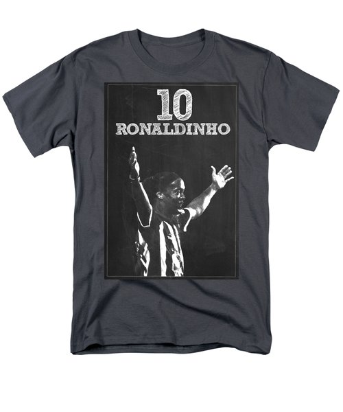 Ronaldinho Men's T-Shirt  (Regular Fit) by Semih Yurdabak