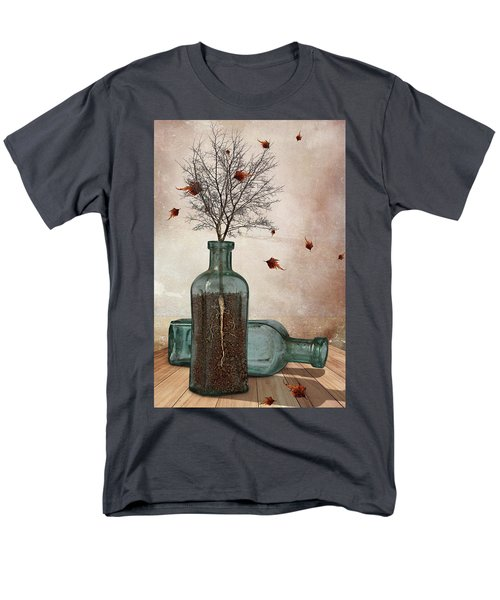 Rooted Men's T-Shirt  (Regular Fit) by Mihaela Pater