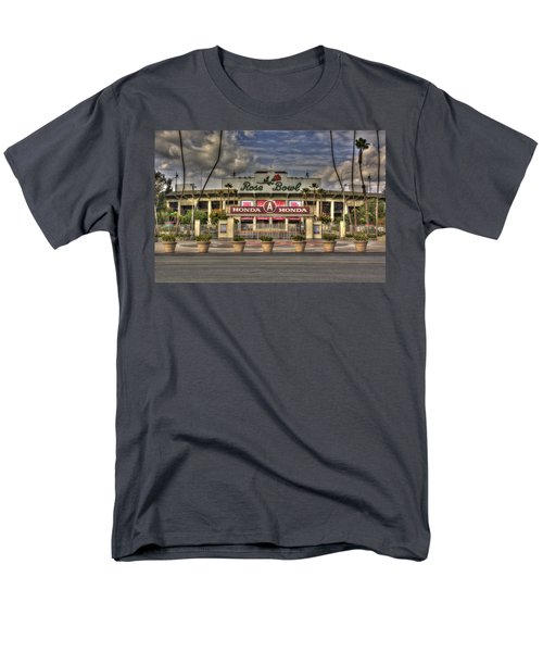 Rose Bowl Hdr Men's T-Shirt  (Regular Fit) by Richard J Cassato