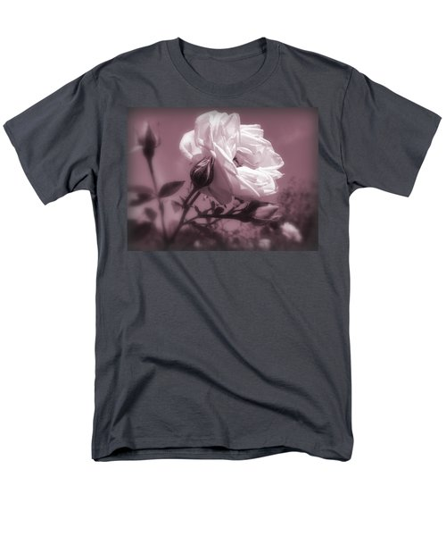 Rose In Rose Men's T-Shirt  (Regular Fit)
