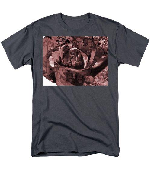 Rose No 2 Men's T-Shirt  (Regular Fit) by David Bridburg