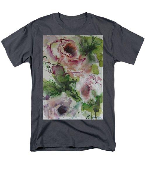 Men's T-Shirt  (Regular Fit) featuring the painting Rosebuds by Robert Joyner