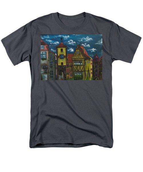Rothenburg Ob Der Tauber Men's T-Shirt  (Regular Fit) by The GYPSY And DEBBIE
