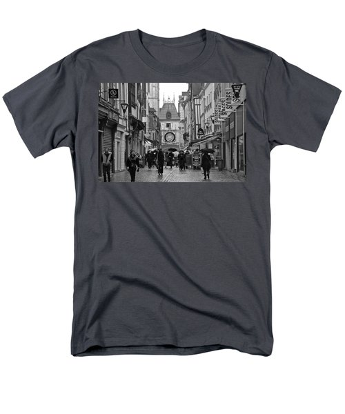 Rouen Street Men's T-Shirt  (Regular Fit) by Eric Tressler