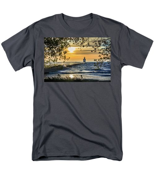 Men's T-Shirt  (Regular Fit) featuring the photograph Rough Opening by Bill Pevlor