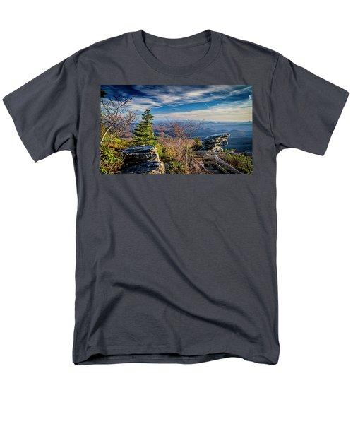 Rough Ridge View Men's T-Shirt  (Regular Fit)