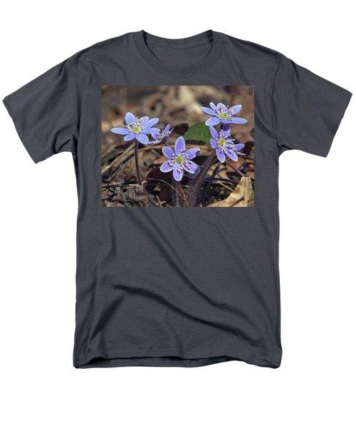 Round-lobed Hepatica Dspf116 Men's T-Shirt  (Regular Fit) by Gerry Gantt