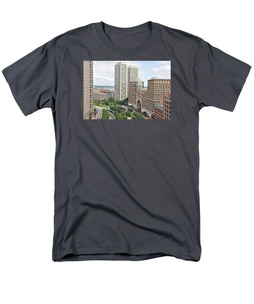 Rowes Wharf Men's T-Shirt  (Regular Fit) by Joanne Brown