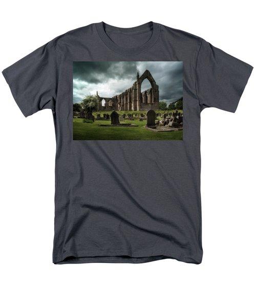 Ruins Of Bolton Abbey Men's T-Shirt  (Regular Fit) by Jaroslaw Blaminsky