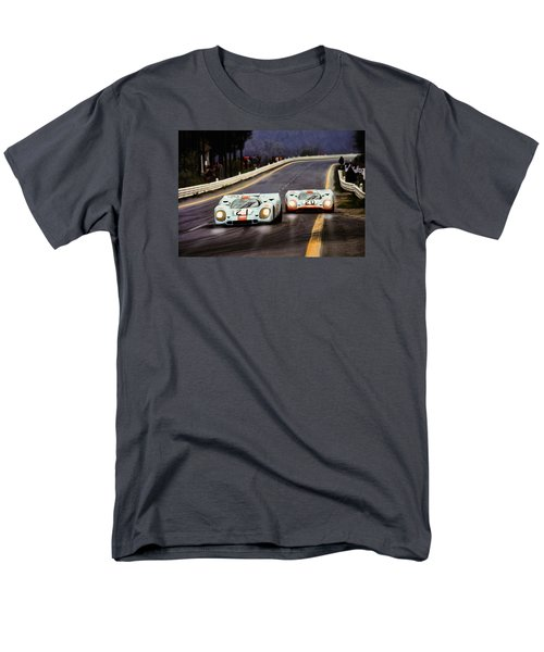 Running One Two Men's T-Shirt  (Regular Fit) by Peter Chilelli