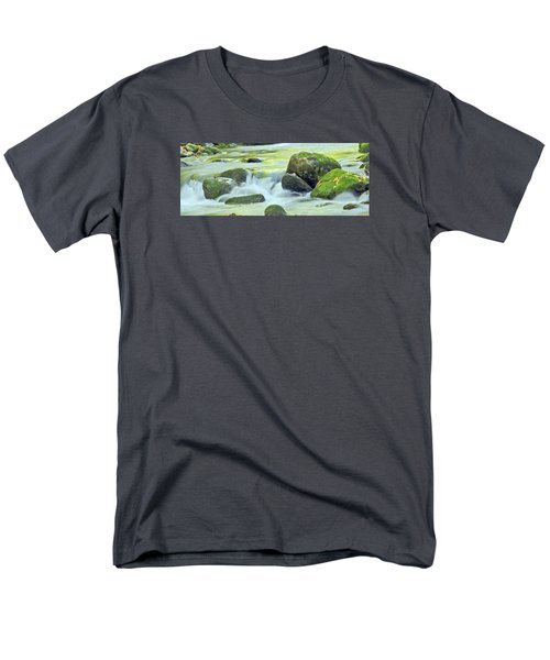 Running Water Men's T-Shirt  (Regular Fit) by Wanda Krack