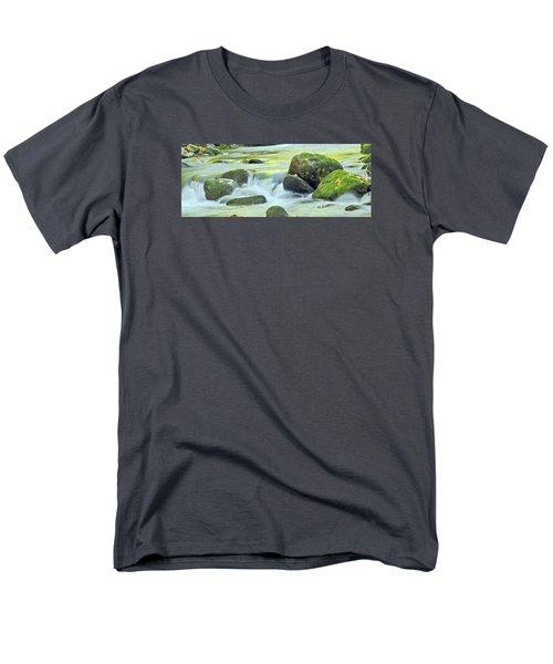 Running Water Men's T-Shirt  (Regular Fit)
