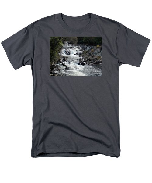 Rushing Water Men's T-Shirt  (Regular Fit) by Catherine Gagne
