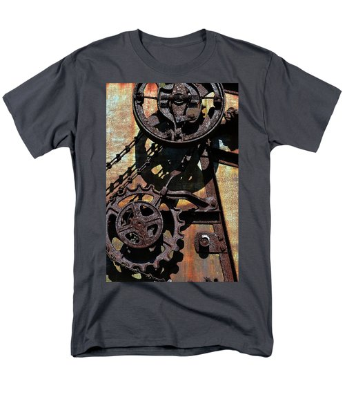 Rusted Gears 2.0 Men's T-Shirt  (Regular Fit) by Michelle Calkins