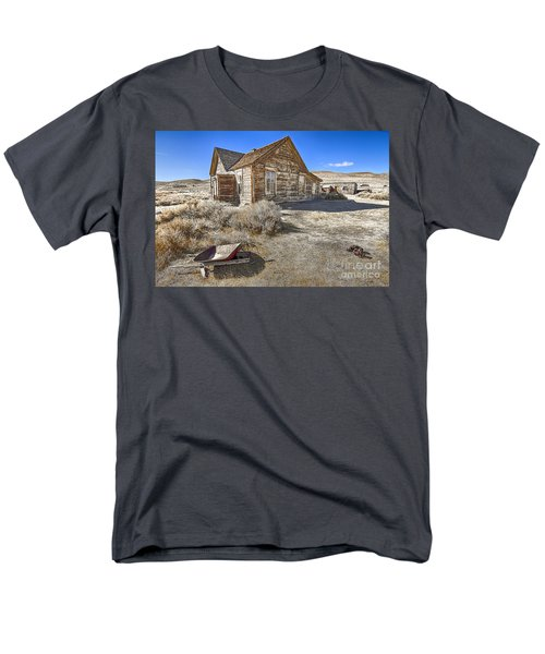 Men's T-Shirt  (Regular Fit) featuring the photograph Rustic House by Jason Abando