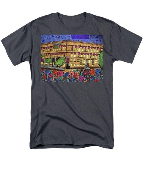 S.m Stephenson Hotel Men's T-Shirt  (Regular Fit) by Jonathon Hansen