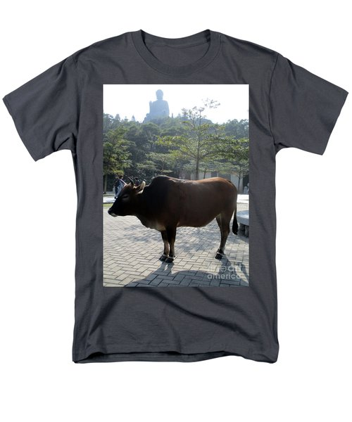Men's T-Shirt  (Regular Fit) featuring the photograph Sacred Cow 3 by Randall Weidner