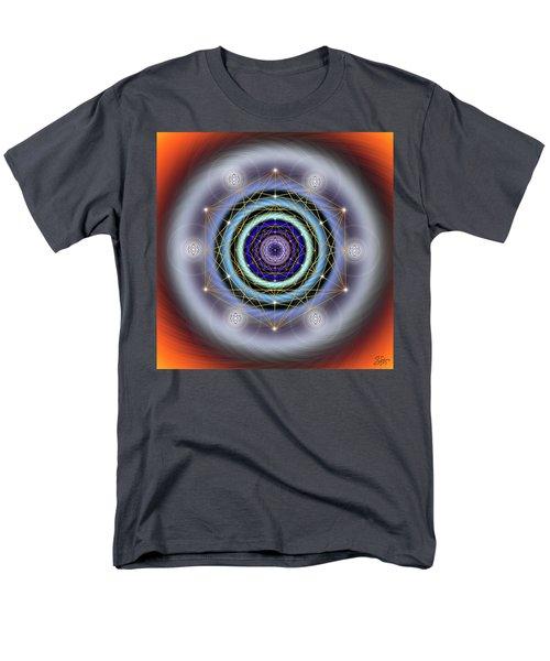 Sacred Geometry 640 Men's T-Shirt  (Regular Fit) by Endre Balogh