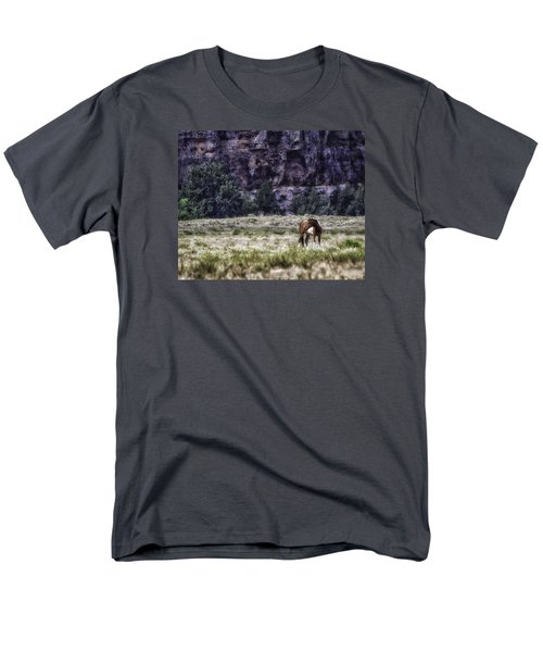 Safe In The Valley Men's T-Shirt  (Regular Fit) by Elizabeth Eldridge