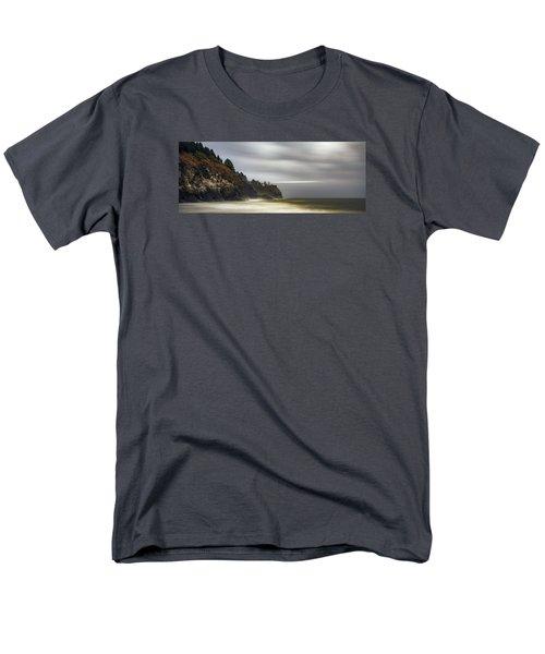 Safe  Passage Men's T-Shirt  (Regular Fit) by James Heckt