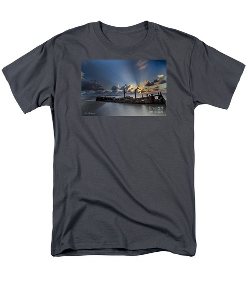Safe Shore Men's T-Shirt  (Regular Fit) by Arik Baltinester