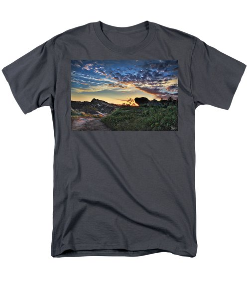 Sage Ranch Sunset Men's T-Shirt  (Regular Fit) by Endre Balogh