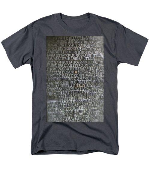 Sagrada Familia Doors Men's T-Shirt  (Regular Fit) by Henri Irizarri
