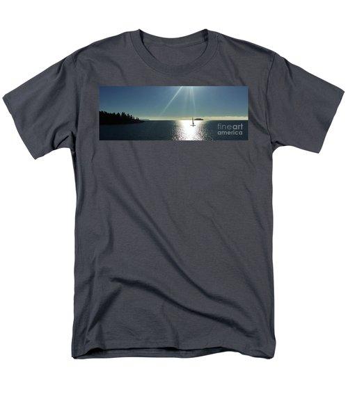 Sail Free Men's T-Shirt  (Regular Fit) by Victor K
