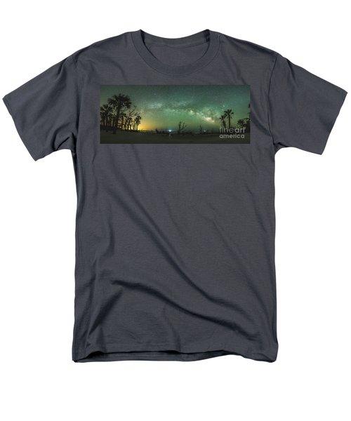 Saint Helena Island Milky Way Men's T-Shirt  (Regular Fit) by Robert Loe