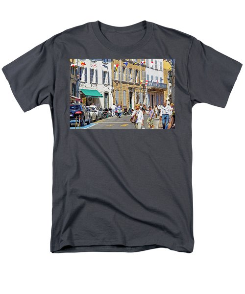 Saint Tropez Moment Men's T-Shirt  (Regular Fit) by Keith Armstrong