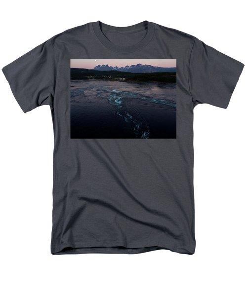 Saltstraumen, Magic Power Stream Men's T-Shirt  (Regular Fit) by Tamara Sushko