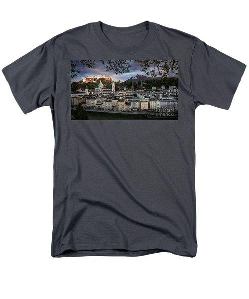 Salzburg Men's T-Shirt  (Regular Fit) by Maurizio Bacciarini