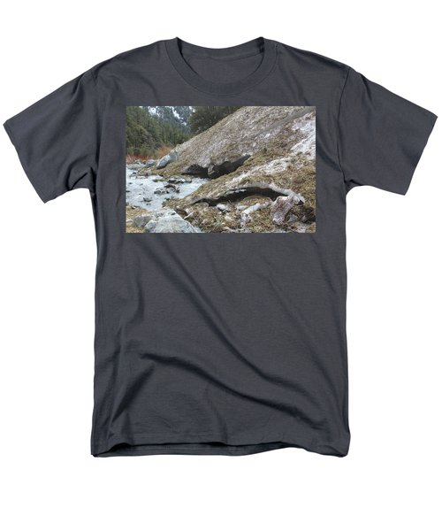 San Antonio Glacier Men's T-Shirt  (Regular Fit) by Viktor Savchenko
